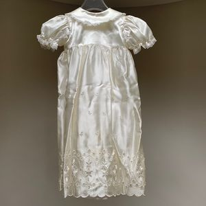Vintage | Heirloom Christening Gown and Bonnetl